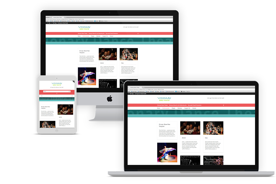 Our New Responsive Site
