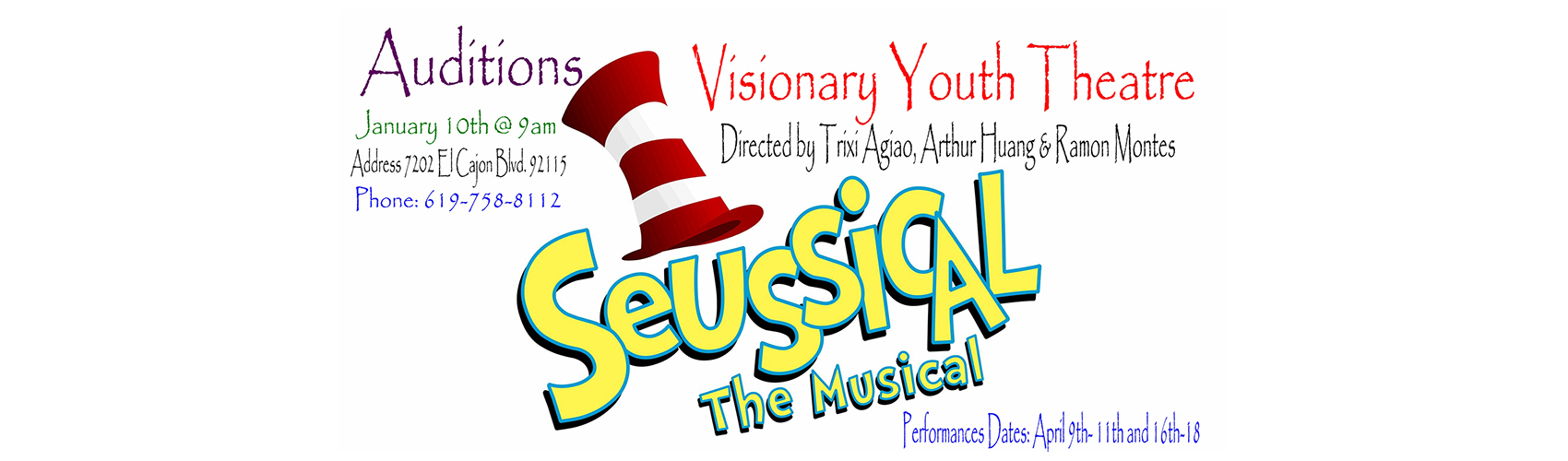 Seussical_Auditions