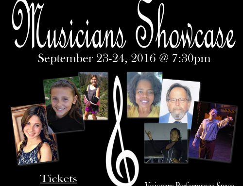 Musicians Showcase – September 2016